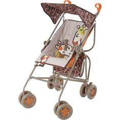 Carrinho de Bebê Galzerano Reversível Girafas, pratico, seguro e confortável.