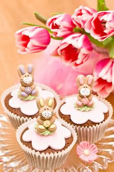 Buy Cupcakes by RuthBlack on PhotoDune. Variety of cupcakes on a cakestand Fancy Cupcakes, Pretty Cupcakes, Beautiful Cupcakes, Flower Cupcakes, Spring Cupcakes, Easter Cupcakes, Amazing Cupcakes, White Cupcakes, Chocolate Cupcakes