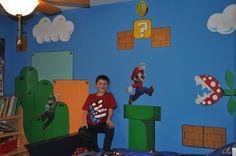 kids mario murals for bedrooms | Esqueda Ink: Super Mario Bros Wall Mural