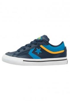 Converse - CONS PRO BLAZE - Trainers - nighttime navy/cyan space/yellow