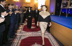 La Cour royale marocaine: la Princesse Lalla Hasna Signes le Pacte Quality'Air.