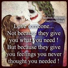Discover and share Harley Quinn And Joker Quotes. Explore our collection of motivational and famous quotes by authors you know and love. Joker Quotes, Me Quotes, Motivational Quotes, Inspirational Quotes, Qoutes, Young Quotes, Madly In Love, My Love, Joker Und Harley Quinn