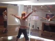Tracy Anderson Arms workout  i like to stay away from arm workouts that require weights since my arms are a little on the thick side. This workout by tracy anderson not only slimmed down and toned my arms, but by the end of the week my under arm jiggle was gone!