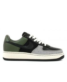 Air Force 1 Low Insideout Black, Black-Army Olive 312486-001 Air Force 1, Nike Air Force, Mens Trainers, Nike Men, Nike Shoes, Shop Now, Army, Sneakers, Shopping