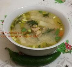 Ciorba de gulie cu piept de curcan Supe, Cheeseburger Chowder, Cancer, Ethnic Recipes, Food, Essen, Meals, Yemek, Eten