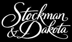 Logo for Stockman & Dakota. Typography Love, Script Lettering, Typography Letters, Calligraphy, Fit Models, Type Treatments, Hand Drawn Type, Penmanship, Scripts