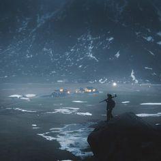 Konsta Punkka~ @juusohd chasing moody mountains in Lofoten, Norway 🇳🇴