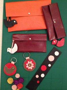 Using leather scraps
