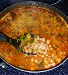 Frijoles Borrachos con Chorizo (Drunken Pinto Beans) - Cinco de Mayo will be here before you know it!