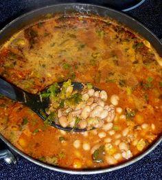Frijoles Borrachos con Chorizo (Drunk Pinto Beans with Chorizo)