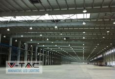 #VTAC #LED #Highbay lights are designed to provide drastic reductions in both energy consumptions and maintenance requirements and are used for general purpose lighting including airport perimeter, athletic facility,warehouse etc.