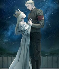 I'm a proud yumikuri and reibert shipper but this art is too good to ignore