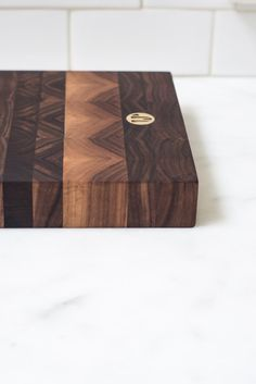 I need this. Jacob May Heirloom Serving Board - Black Walnut
