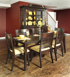 Amazing Easton Transitional Dining Room Collection | Amish Furniture | Solid Wood  Mission Shaker Furniture | Chicago