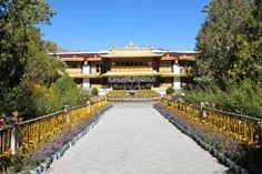 The Dalai Lama's summer palace, Tibet Horrible People, Summer Palace, Dalai Lama, Tibet, Dolores Park, Sidewalk, World, Travel, Viajes