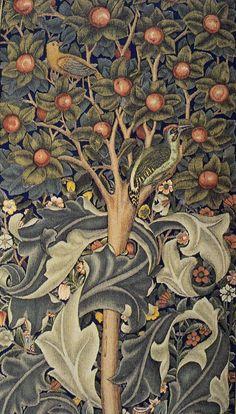 Morris_Woodpecker_tapestry_detail