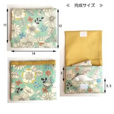 Suitcase, Pouch, Sewing, Megumi, Simple, Mini, How To Make, Handmade, Bags