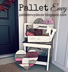 Pallet Hearts <3