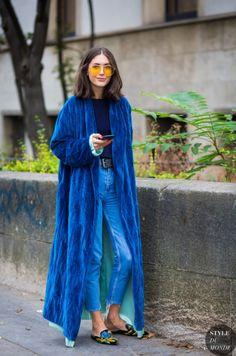 Paris SS 2017 Street Style: Pelin Honça