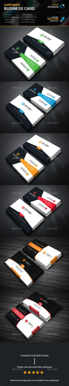 Modern Business Card Bundle Templates PSD. Download here: http://graphicriver.net/item/modern-business-card-bundle/16213899?ref=ksioks