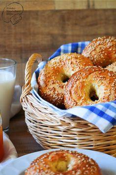 Wonder Wunderbare Küche: Sesam-Bagels