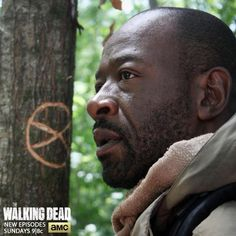 MORGANNNNN - No Sanctuary - Season 5 - The Walking Dead...I seriously lost it when he came on screen