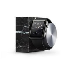 DOCK for Apple Watch Marble Edition   Black Marble   Native Union