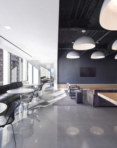 Commercial Office Lighting Ideas San Francisco New Ideas Corporate Interiors, Corporate Design, Office Interiors, Black Interiors, Interior Work, Office Interior Design, Commercial Design, Commercial Interiors, Home Office Inspiration