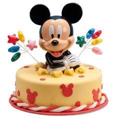 Gâteau d'anniversaire Mickey. Comment réaliser facilement un très beau gâteau d'anniversaire.