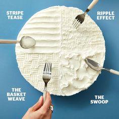 7 fun ways to ice a cake | Ai Cuisine