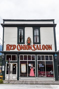 travelyesplease.com | Skagway, Alaska- Gateway to the Gold Rush (Blog Post) | Red Onion Saloon