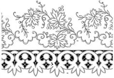Nice cutwork and whitework embroidery pattern. Cutwork Embroidery, Hand Embroidery Patterns, Vintage Embroidery, Embroidery Stitches, Cross Stitch Patterns, Machine Embroidery, Embroidery Designs, Painting Patterns, Fabric Painting