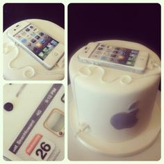 iphone cake! All sugar :)