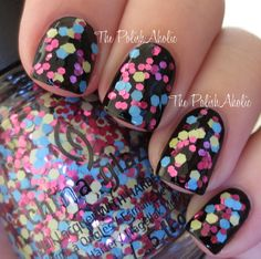 "The PolishAholic: China Glaze Surprise Collection Swatches & Review ""I'm a Go Glitter"""