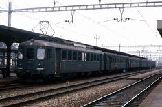 欧州国鉄① Bahn, Swiss Railways, Coaches, Vehicles, Trains, Electric, Fancy, Switzerland, Trainers