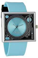 $40 Flud Turntable Watch in Blue and Black on #PLNDR - Use repcode SMARTCANUCKS for 10% off - Join Today: http://www.plndr.com/plndr/MembersOnly/Login.aspx?r=2272960
