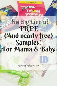 Free Samples you can find online! US and Australian samples! #free #samples #list