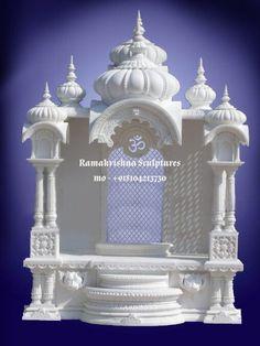 Pooja Room Door Design, Home Room Design, House Design, Gazebo, Temple Design For Home, Mandir Design, Wall Unit Designs, Ganapati Decoration, Pooja Mandir