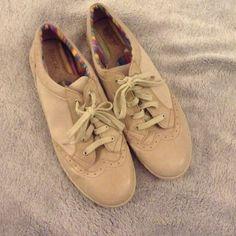 BORN shoes Super cute tan shoes! Never worn. So comfy! Born Shoes