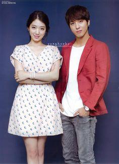 Heartstrings K-drama: Park shinHye & YongHwa