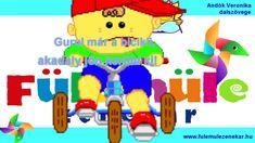 Bicikli dal - FÜLEMÜLE ZENEKAR - Gyerekeknek , gyerekdal , közlekedés , ... Nintendo 64, Dali, Logos, Music, Youtube, Musica, A Logo, Musik, Muziek