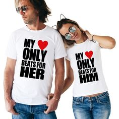 Couple Matching T-Shirt Price: 18.00 & FREE Shipping #comicsnserials