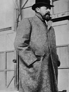 Photograph of Gilded Age American Artist, John Singer Sargent, (1856-1925).