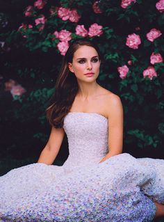 Natalie Portman for Miss Dior 2013 in Gorgeous Christian Dior Haute Couture Fall/Winter 2012 Dress