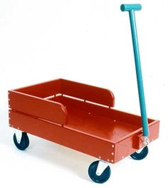 Little Red Wagon Highland Woodworking, Woodworking Plans, Woodworking Projects, Little Red Wagon, Wood Crafts, Upcycle, How To Plan, Toys, Children