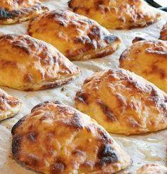 Vatruskat No Salt Recipes, Wine Recipes, Baking Recipes, Dessert Recipes, Bread Recipes, Savory Pastry, Savoury Baking, Bread Baking, Finnish Recipes