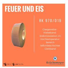 RK 970/019 Glasgewebklebeband Elektroisolation bei hohen Temperaturen #Klebeband #Glas #Teflon #Gewebe #Adhesive #Tape #Fire #Ice #Feuer #Eis #Hohe #Temperatur #Elektroisolation #Krueckemeyer