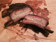 [Homemade] Smoked Beef Ribs. #food #foodporn #recipe #cooking #recipes #foodie #healthy #cook #health #yummy #delicious