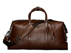 Coach transatlantic travel carry-on -- I'm not usually a fan of Coach but this is ammaaaazzing. And I have it!!!