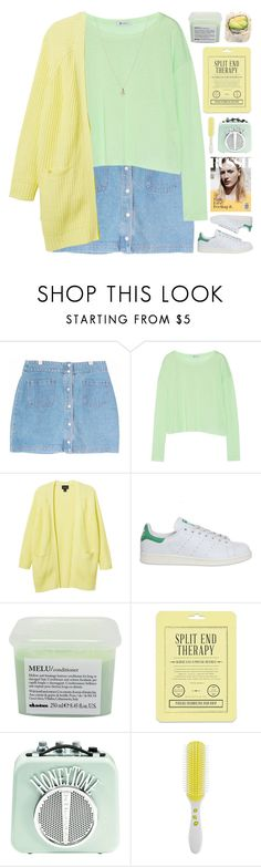 """BIBI"" by emmas-fashion-diary ❤ liked on Polyvore featuring T By Alexander Wang, Monki, adidas, Davines, Love 21, Accessorize and ASOS"